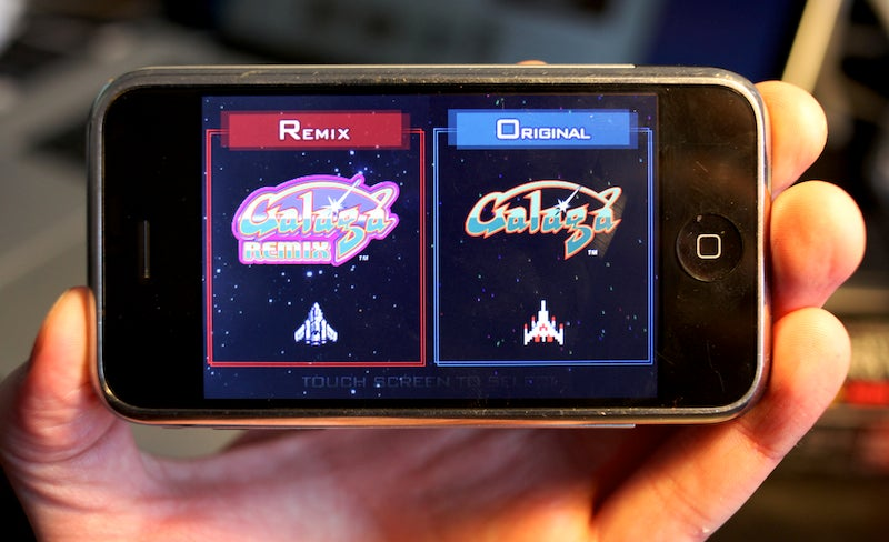 Galaga Remix Lightning Review: Classic Space Shootin' For iPhone
