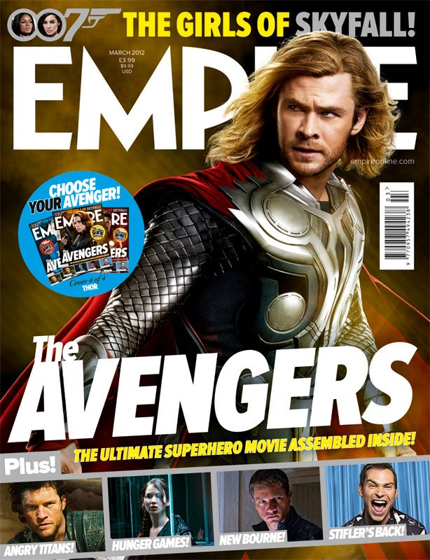 The Avengers Empire Magazine Covers and Pictures
