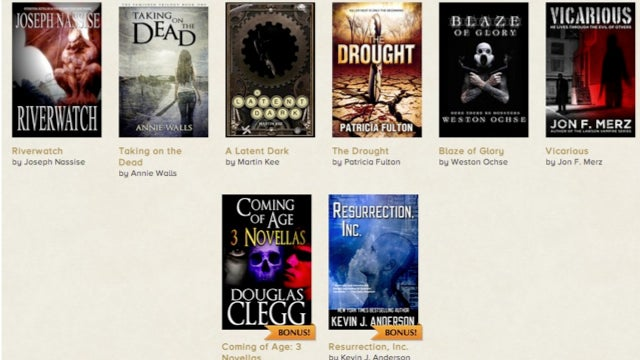 StoryBundle brings you amazing new indie fiction every month — for a good cause