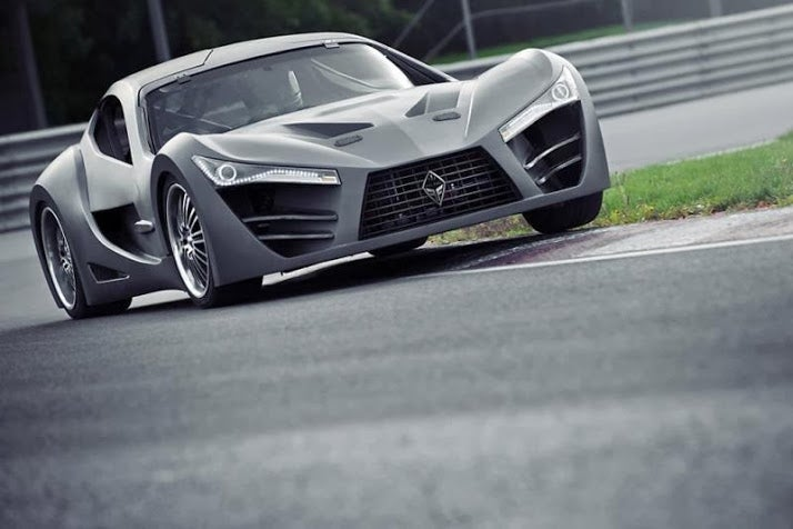 Canada's $100,000 Super Car, the Felino CB7 [Video]