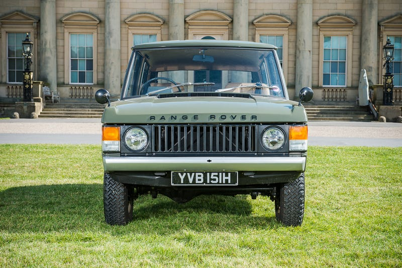 The First-Ever Range Rover Has Been Found & Restored, Now It's For Sale