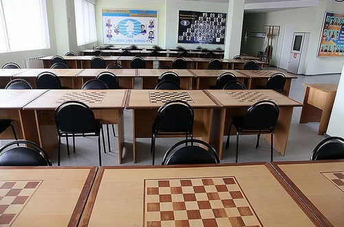 The curious Chess City of the Russian steppe