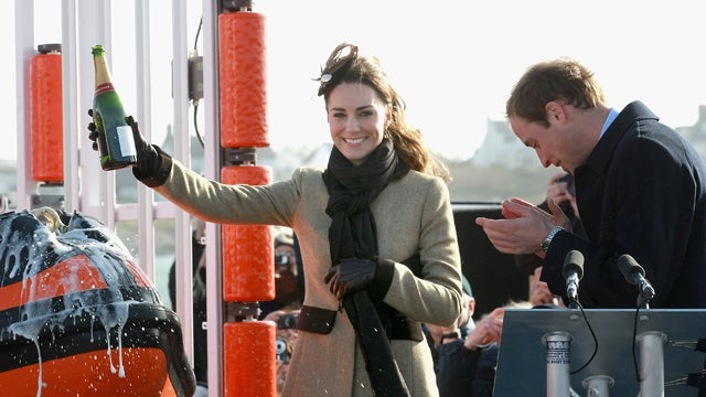 Kate Middleton Remains Bubbly Throughout Royal Test
