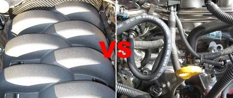 The Importance of Underhood Styling: Audi RS-4 or Lexus IS-F?