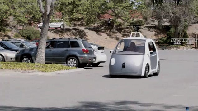 Google's New Self-Driving Car Doesn't Have A Steering Wheel