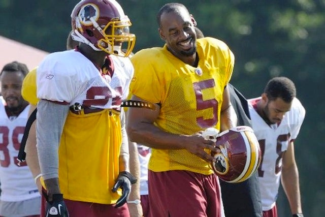 Clinton Portis Confirms That The Redskins Are A Hot Mess