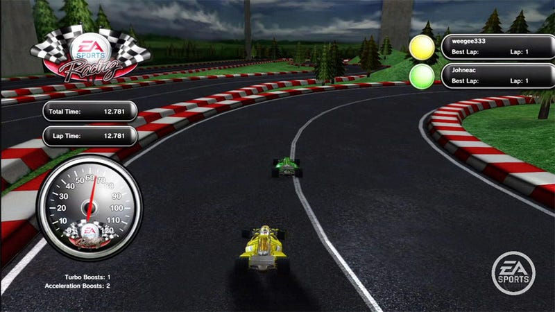 EA Sports Complex Races Onto PlayStation Home