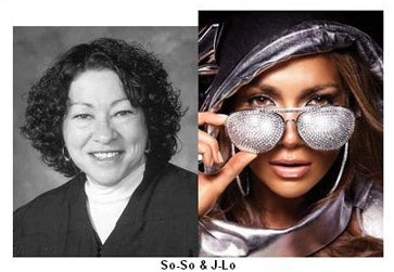 "Finally, Someone Brave Enought To Call Sonia Sotomayor ""J-Lo"""