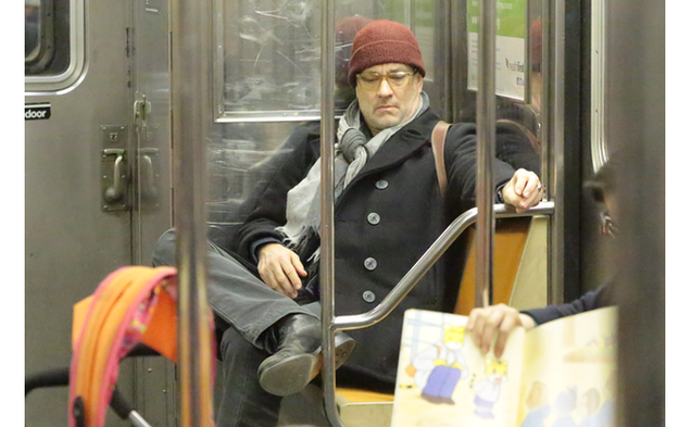 Tom Hanks Took Up Two Subway Seats and Guess What That's Fine