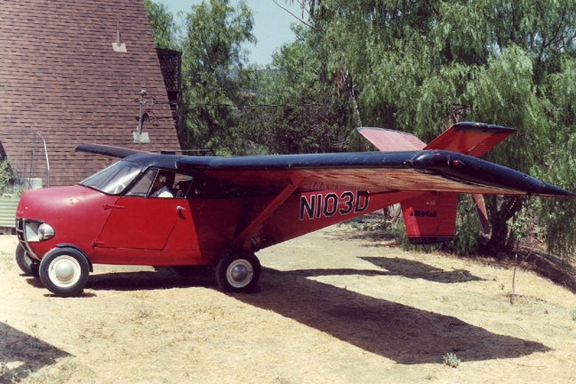 Flying Aerocar Auction Shows the Future Comes From 1956