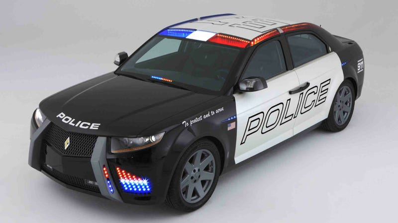 Failed Carbon Motors' Police Car Prototype Goes To Auction
