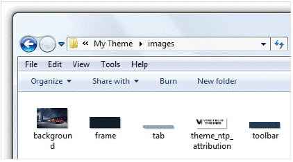 how to create a theme for chrome