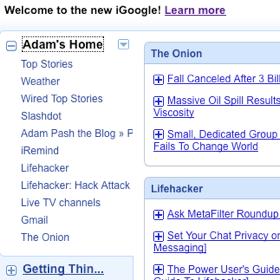 Start Using the New iGoogle Today