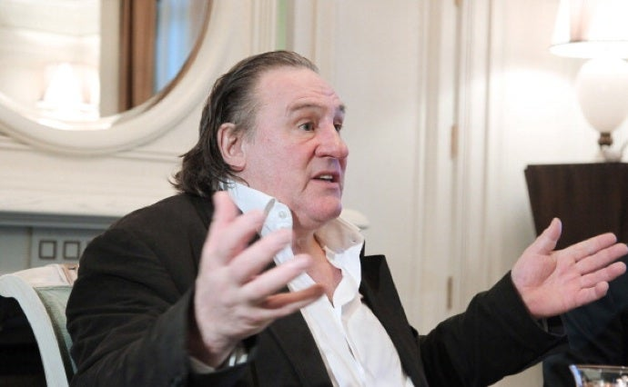 Gérard Depardieu 'Betrays' France for Russia's Flat Tax
