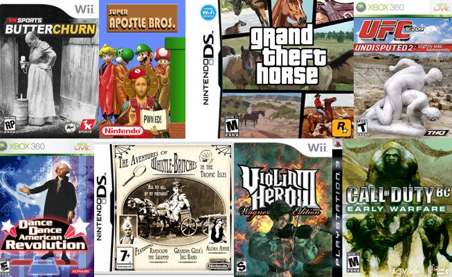 65 Ancient Video Games I Wish Existed