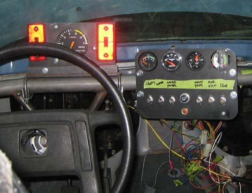 Welcome To Low-Budget Race Car Wiring Hell!