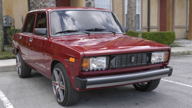 Low mileage turbo Lada Riva on Ebay