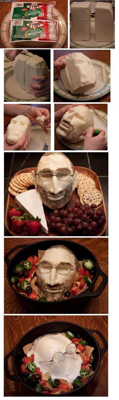 Steve Jobs: He's What's for Dinner?