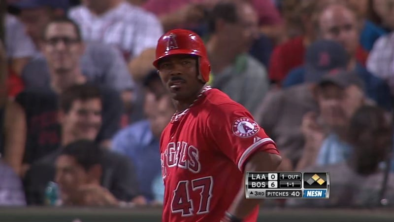 Howie Kendrick's Mustache Last Night Was, Erm, Unique