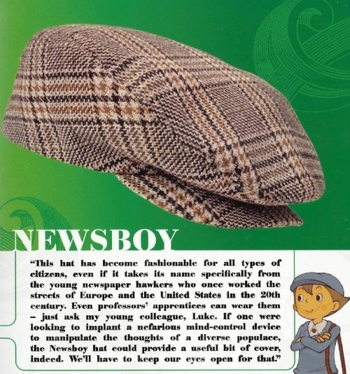 You Too Can Learn About Hats From Video Game Characters