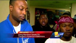Watch This Video of Baltimore Gang Members Explaining Their Truce