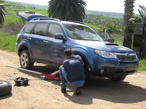 2009 Subaru Forester, Part One