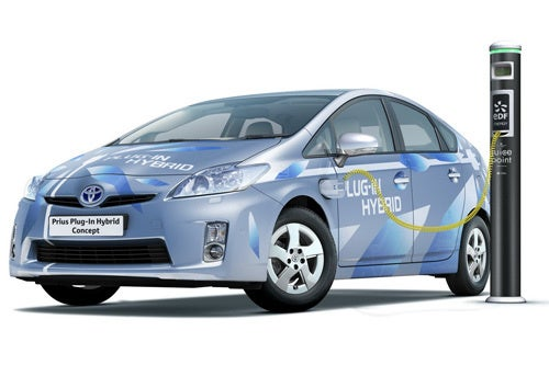 Toyota Prius Plug-In Hybrid Concept Plans Euro Vacation