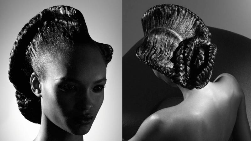 Garage's Black Hair Fashion Spread Is Kind Of A Winner
