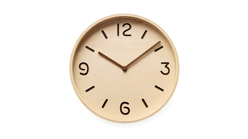 This All-Wood Clock Could Hang Anywhere