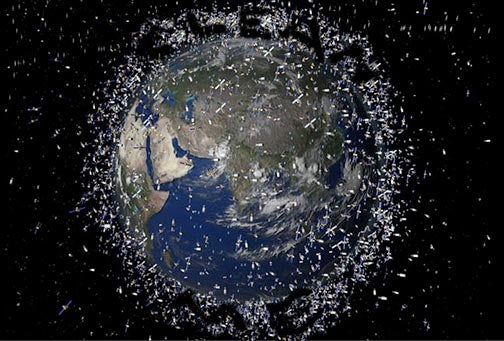 Too Much Space Debris? Try a Weak Laser or a Strong Water Cannon