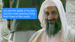 Jihad Me at Hello: Tinder Flirting With Osama bin Laden's Love Letters