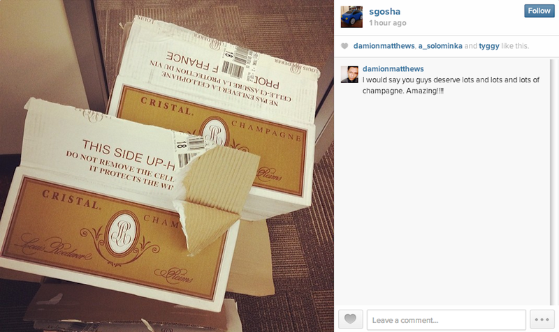 WhatsApp Developers Are Celebrating With Boxes of Cristal