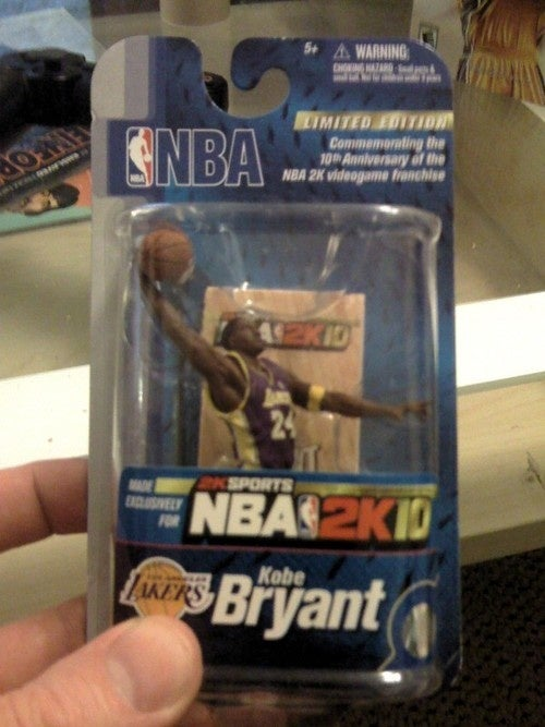 NBA 2K10 10th Anniversary Collector's Edition Gallery
