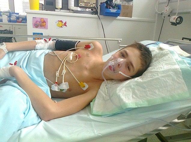 "Terminal Cancer Teen Breaks Legs, Bites Off Tongue in ""Dream Ride"""