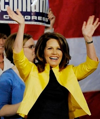 'Michelle' Bachmann's Staff Has Trouble Spelling Boss's Name