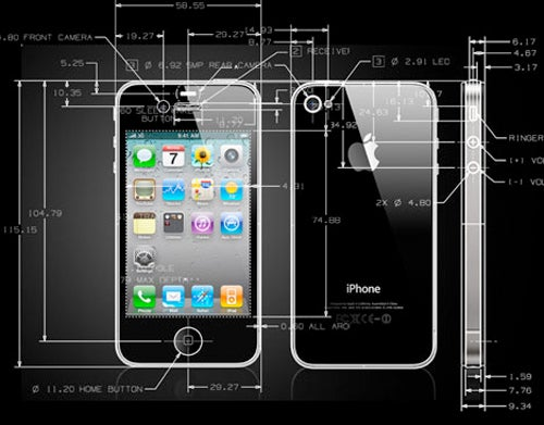 iPhone 4 CAD Diagrams Will Make Designers Weak at the Knees