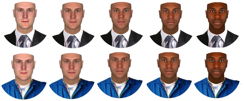 Clothing can influence your perception of race