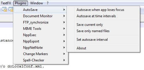 AutoSave Adds Reassurance to Notepad++ Editing
