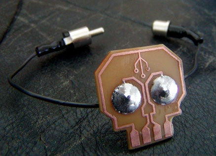 Skull PCB Bracelet Brings Back High School Memories