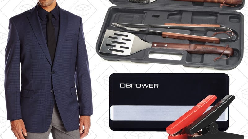 Sunday's Best Deals: Calvin Klein, Grilling Gear, Compact Jump Starters, and More