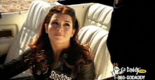 Lexus Blocking GoDaddy Danica Patrick Ad From U.S. Open With Vintage American Car