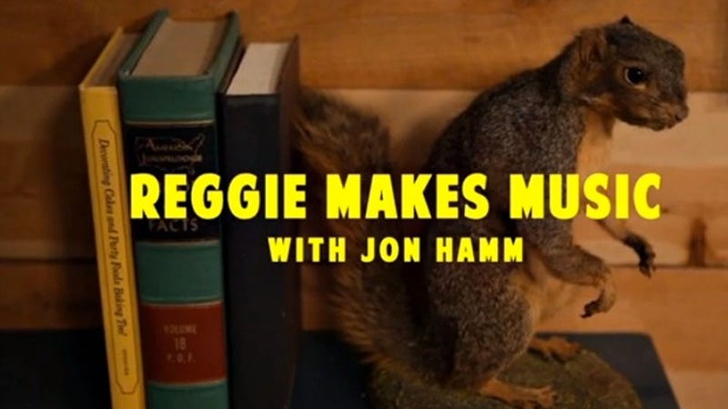 Jon Hamm and Reggie Watts Improvise a Song About Taxi, Everything Is Right in the World