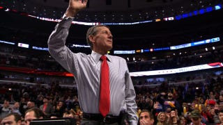 Raw Video Feed Of The Bulls' Welcome Back Ceremony For Craig Sager