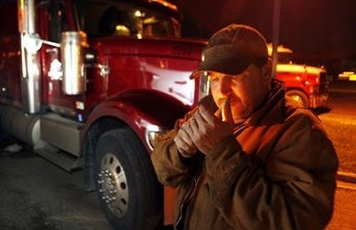 Canadian Trucker Fined For Smoking In Truck