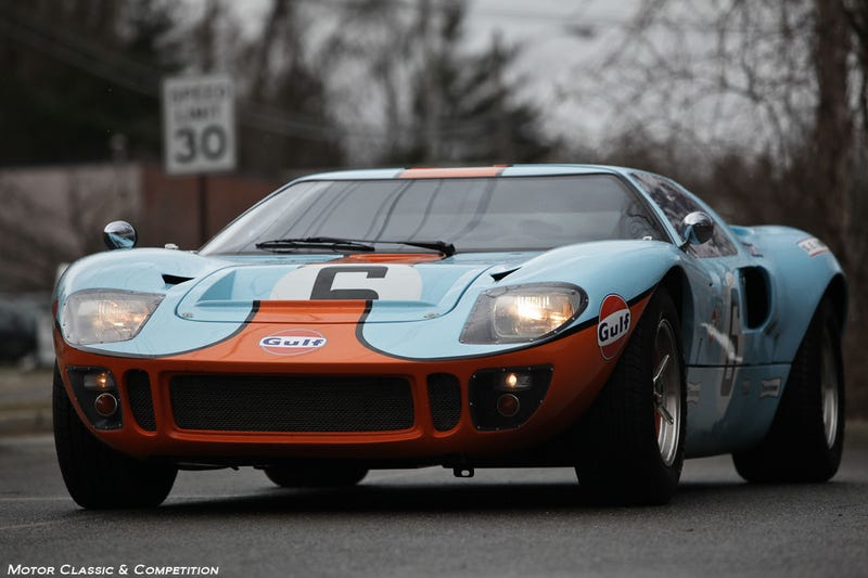 K-Roll's Ultimate Gulf Livery Porsche/Ford GT(GT40) Post!