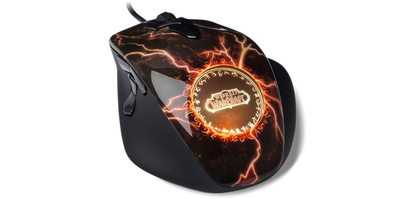 A Legendary World of Warcraft Mouse for More Mundane Hands