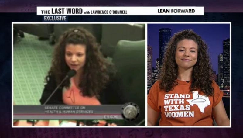 Woman Silenced at Texas Abortion Bill Hearing Gets the Last Word