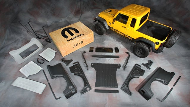 Jeep Wrangler pickup kit revives American manliness for just $5,499