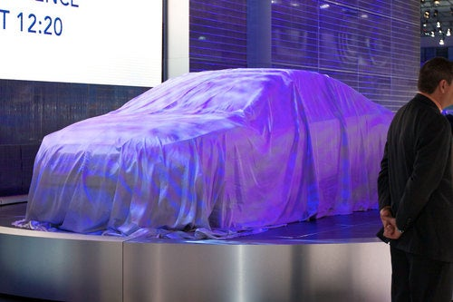 A Subaru Concept Is Under This Sheet