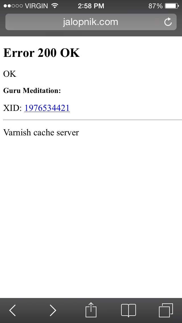 Guru Meditation... OK?!